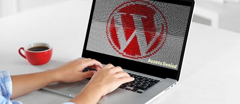 Wordpress Access denied