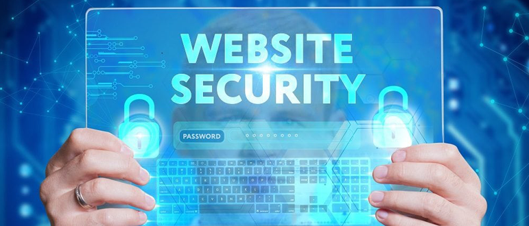 Website security software