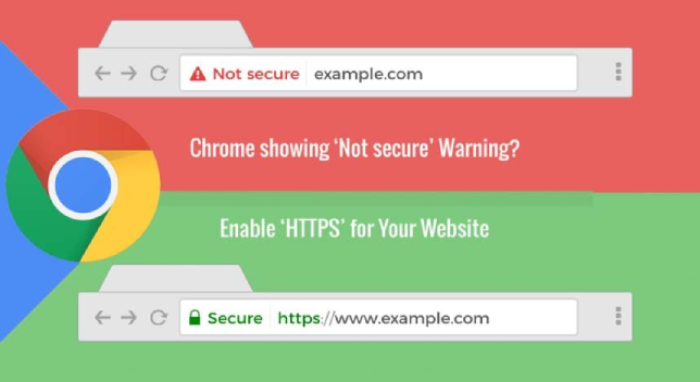 Chrome Not Secure Message