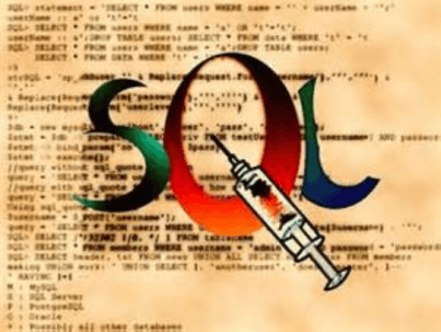 How to create a sql injection