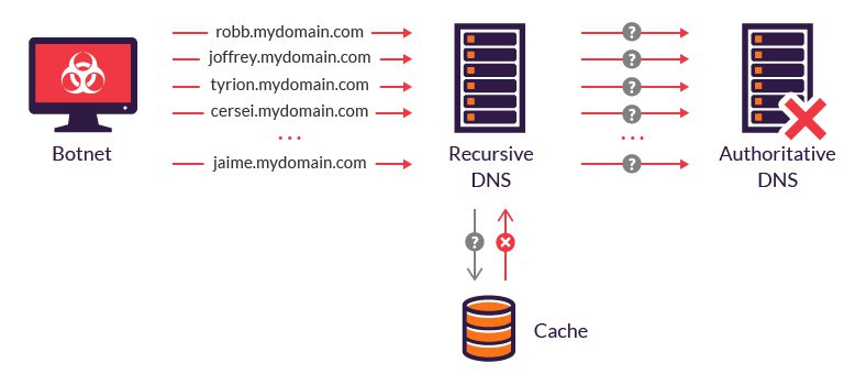 how to protect DNS from DDoS attack