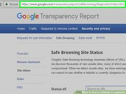 How to see if a website is safe