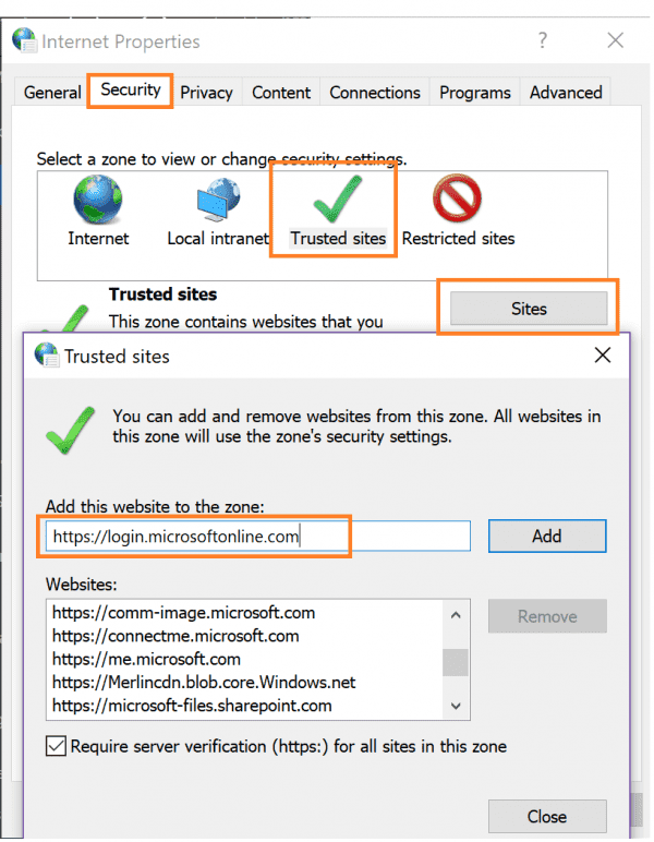 How to whitelist a website in Chrome?