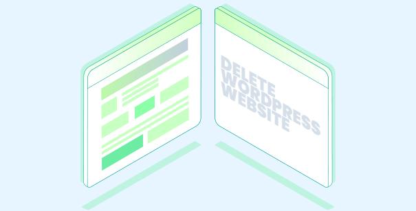 Delete Wordpress Site