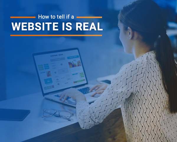 how to know if a website is real